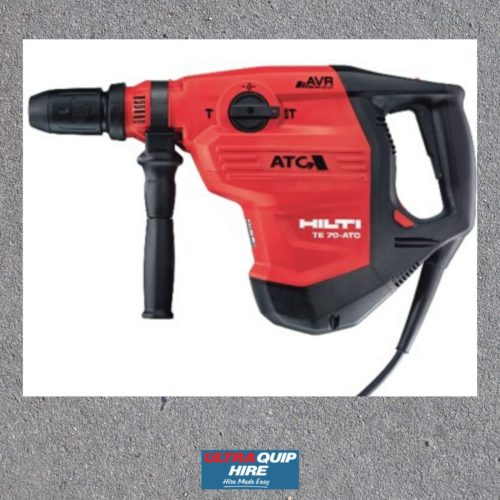 Uoltraquip Hire Hilti concrete hammer drill rent Kennard Hirepool blenheim