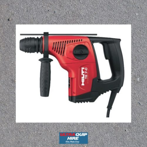 Hilti Hammer concrete drill demolition Ultraquip Hire Rent Hirepool Kennards