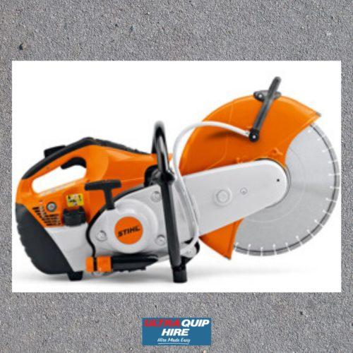 Concrete cutoff saw Stihl Ultraquip Hire rent Blenheim Kennards Hirepool