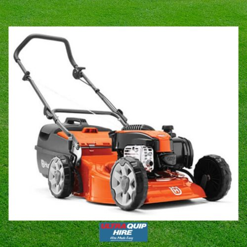 Ultraquip Blenheim Lawn Motor Mower scrub hire rent Kennards Hirepool