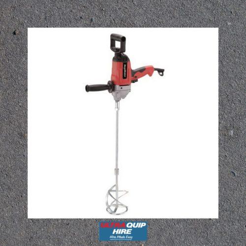 Portamix mixer drill paint adhesive stirrer mortar cement hire rent Kennards Hirepool