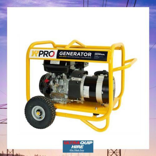 ULtraquip Blenheim Electrical generator power 240 Volt hire rent Hirepool Kennards