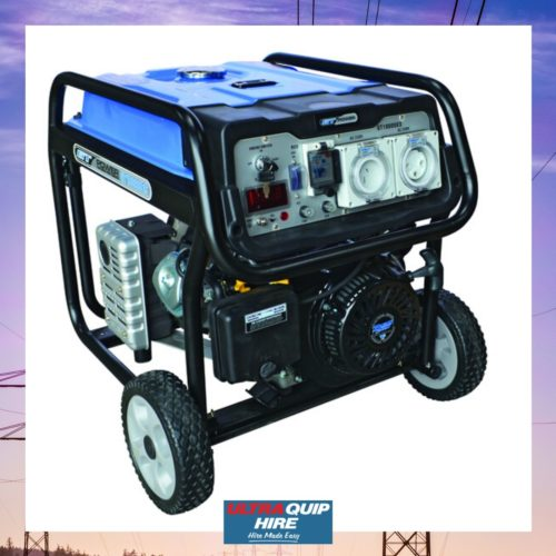 Ultraquip Blenheim generator power electricity portable pack hire rent kennards Hirepool