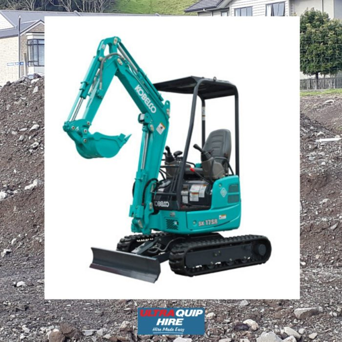 Ultraquip Excavator Digger Kobelco Hire Rent Hirepool Kennards