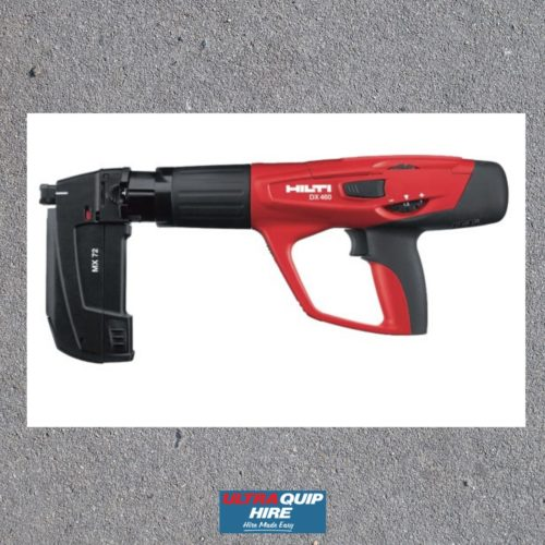 Ultraquip nailer powder gun hire rent hirepool kennards