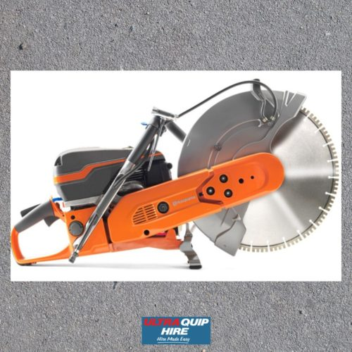 Husqvarna Ultraquip Blenheim concrete cutoff saw rent hire Kennards Hirepool