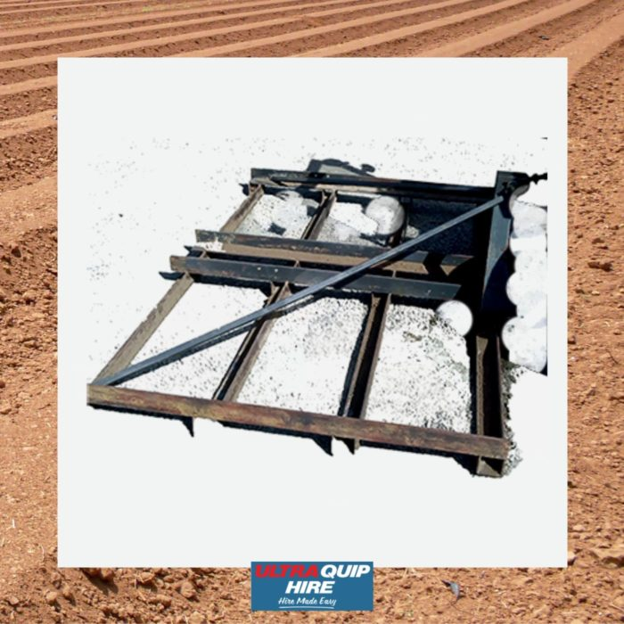 Ultraquip Blenheim Harrows mower level bar rotary hoe spreader Agriculture ag hire rent Hirepool Kennards