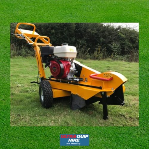 Ultraquip Blenheim Gardening Hire Rent Kennards Hirepool Stump grinder