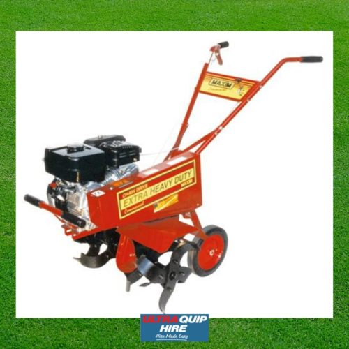 Ultraquip Blenheim Rotary Hoe Tiller cultivator rent hire Kennards Hirepool