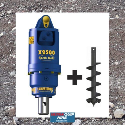 Ultraquip Blenheim Auger excavator post hole borer rent hire Kennards Hirepool
