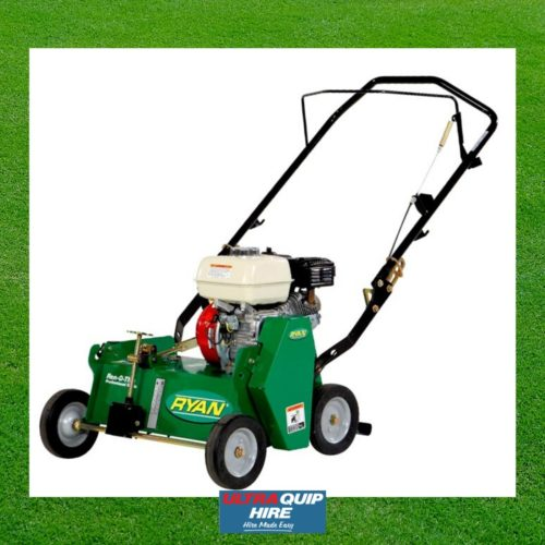 Ultraquip Blenheim garden hedge trimmer dethatcher scarifier power rake lawn rent hire Kennards Hirepool