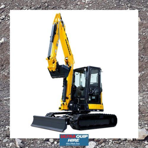 Ultraquip hire rental excavator digger Yanmar MT MT Hirepool Kennards